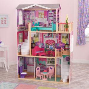 Kidkraft 18-Inch Dollhouse Doll Manor1