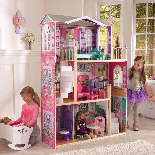 Kidkraft 18-Inch Dollhouse Doll Manor2