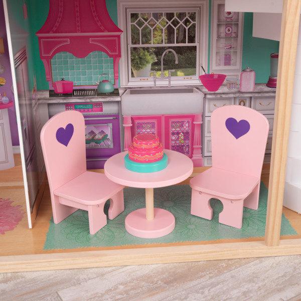 Kidkraft 18-Inch Dollhouse Doll Manor3