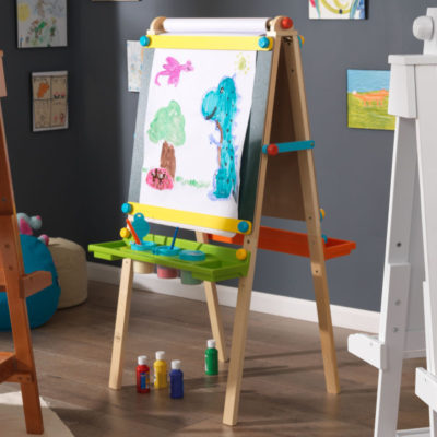 Kidkraft Artist Easel with Paper Roll - Brights