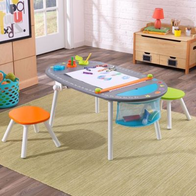 Kidkraft Chalkboard Art Table with Stools1