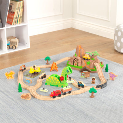 Kidkraft Dinosaur Bucket Top Train Set9