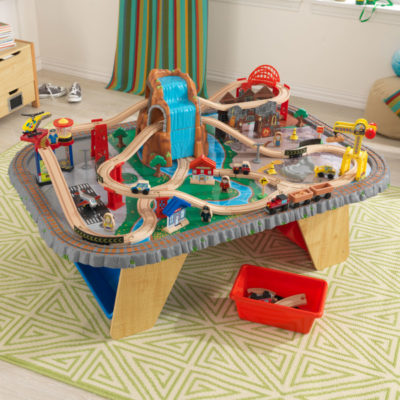 Kidkraft Waterfall Junction Train Set & Table