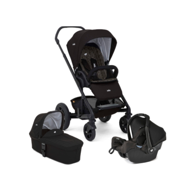 Joie Chrome DLX Gemm Travel System - Dots