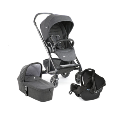 Joie Chrome DLX Gemm Travel System - Pavement