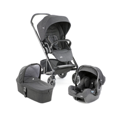 Joie Chrome DLX i-Gemm Travel System - Pavement