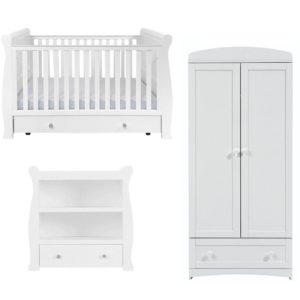 east coast kensington 3 piece nursery room set