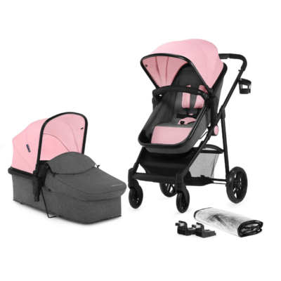 Kinderkraft Juli 2 in 1 Pushchair - Pink