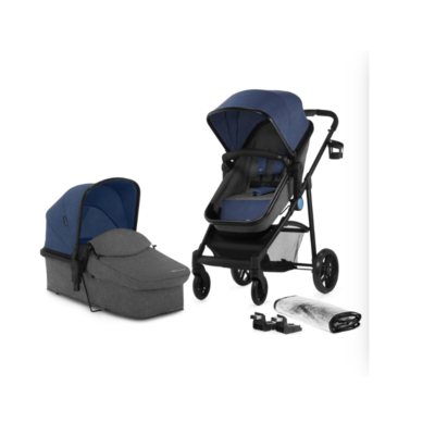 Kinderkraft Juli Travel System - Navy