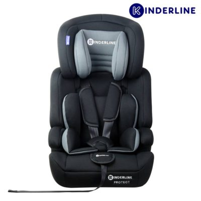 kinderline comfort car seat group 1,2,3 grey