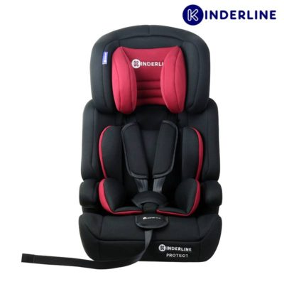 kinderline comfort car seat group 1,2,3, red