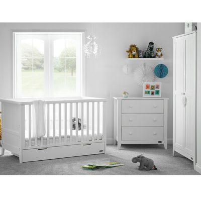 obaby belton 3 piece nursery room set white no ctc