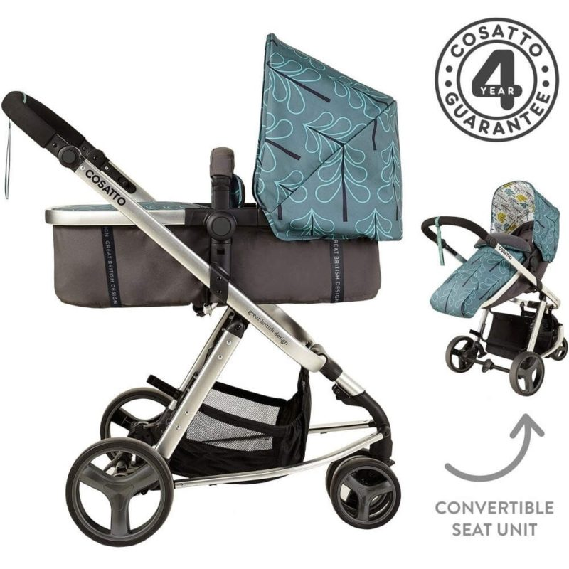Cosatto Giggle Mix Pram and Pushchair - Fjord