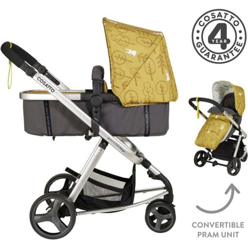 Cosatto Giggle Mix Pram and Pushchair - Hop To It