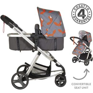 Cosatto Giggle Mix Pram and Pushchair - Mister Fox