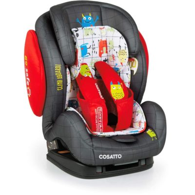 Cosatto Hug 123 Isofix Car Seat - Monster Mob3