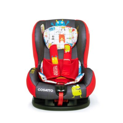 Cosatto Moova 2 Group 1 Carseat- Monster Mob