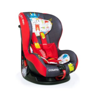 Cosatto Moova 2 Group 1 Carseat- Monster Mob3