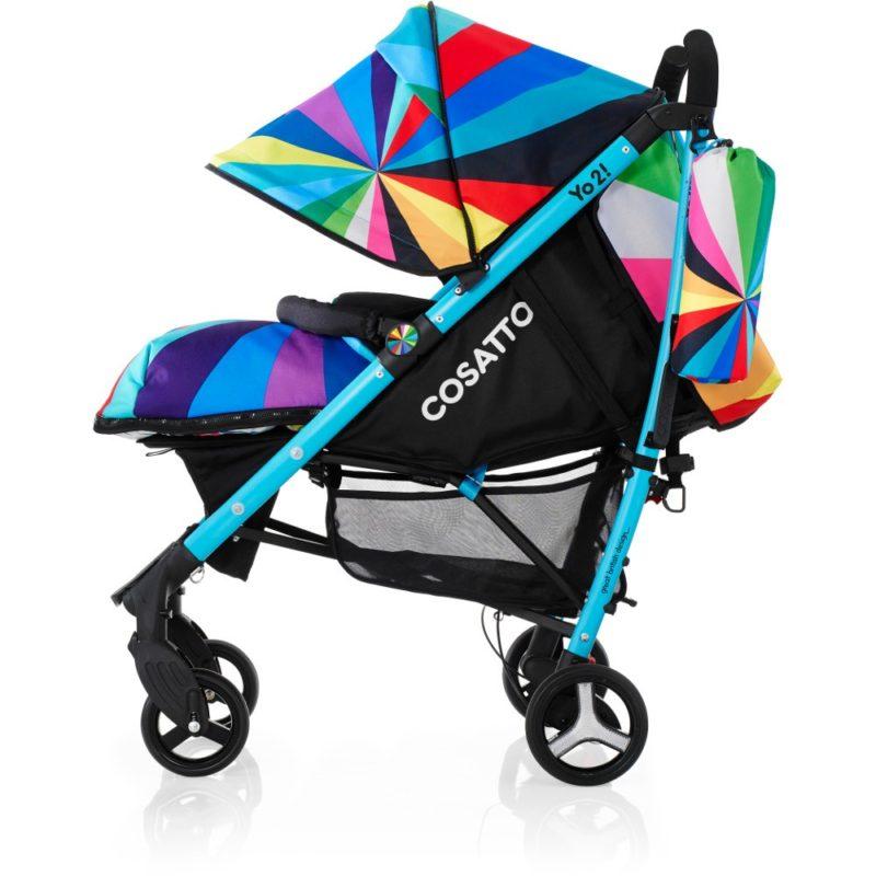 Cosatto Yo 2 Stroller - Go Brightly3