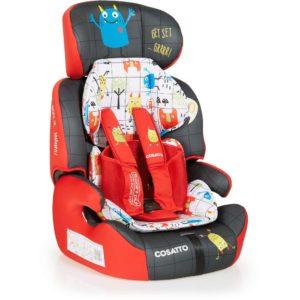 Cosatto Zoomi 123 Car Seat - Monster Mob3