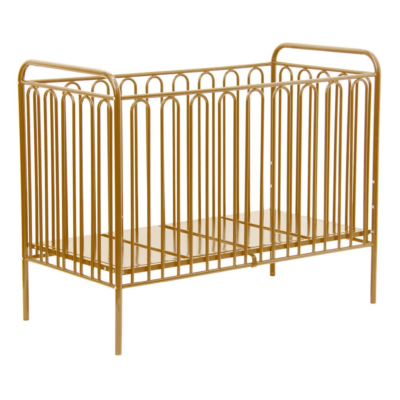 Kudl Kids Vintage Gold Metal Cot