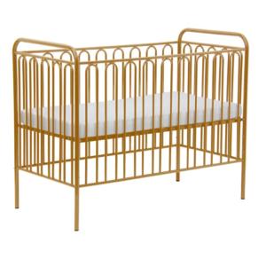 Kudl Kids, Vintage Metal Baby Cot 150 - Gold1