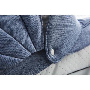 Mee-go Milano Azzurro cameo fabric