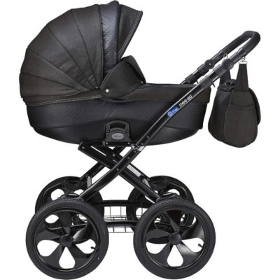 Mee-go Milano Classic Black Chassis Caviar