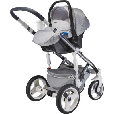 Mee-go Milano Special Edition Silver Charm Car Seat
