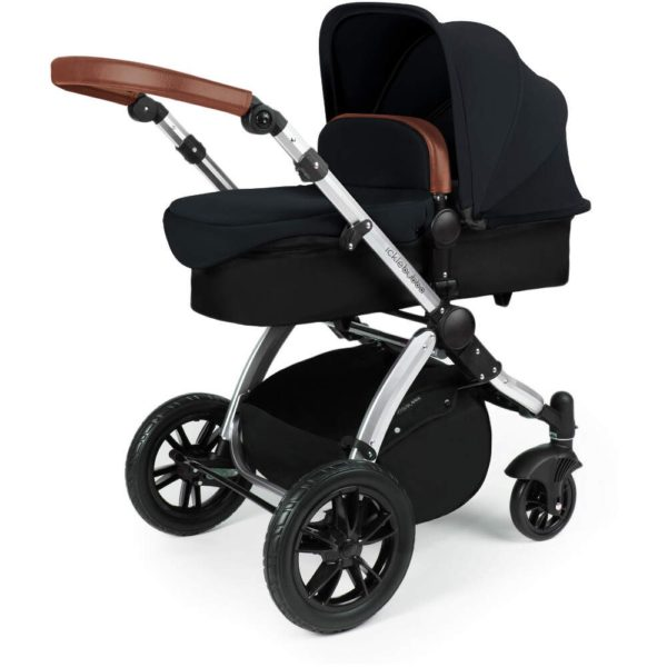 Stomp V3_i-Size_All in One with Isofix_Silver Frame_Black_002