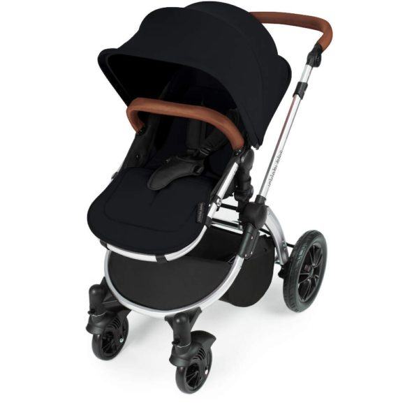 Stomp V3_i-Size_All in One with Isofix_Silver Frame_Black_004