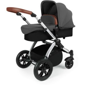 Stomp V3_i-Size_All in One with Isofix_Silver Frame_Graphite Grey