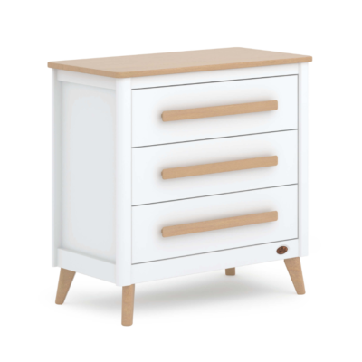 Boori Perla Dresser - White and Nutmeg
