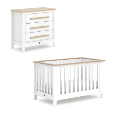 Boori Pioneer Expandable 2 Piece Room Set - Barley White and Almond