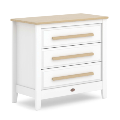 Boori Pioneer Chest of Drawers - Barley White and Almond