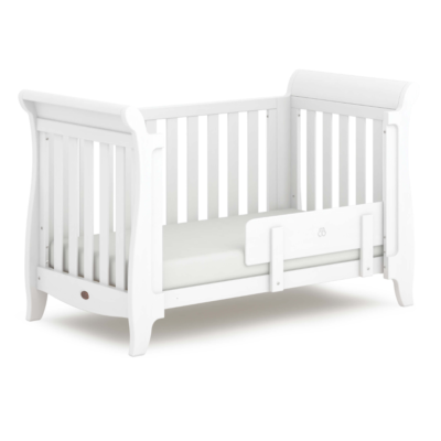 Boori Sleigh Expandable Cot Bed - Barley White