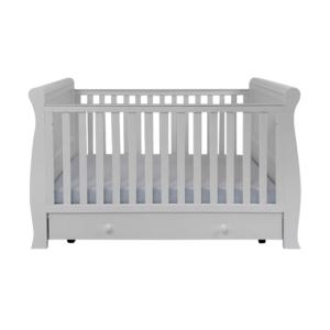 East Coast Kensington Sleigh Cot Bed - Grey