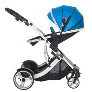 Kids Kargo Duel DS Combi Tandem Pushchair - Blue