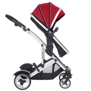 Kids Kargo Duel DS Combi Tandem Pushchair - Red