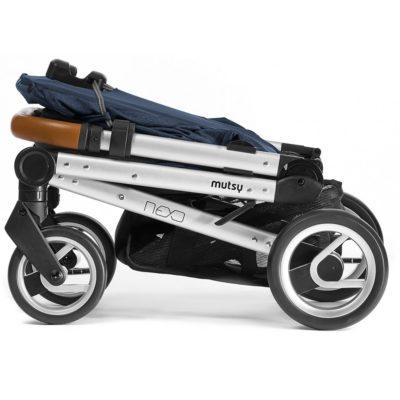 Mutsy Nexo Stroller - Melange Blue