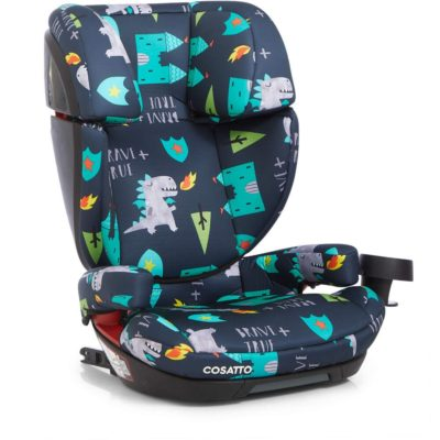 cosatto Skippa Fix Group 2 3 Car Seat - Dragon Kingdom