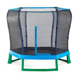 Plum Junior Jumper Trampoline and Enclosure 7ft - Green/Blue
