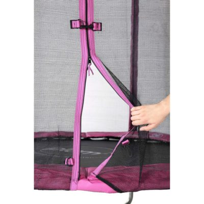 Plum Junior Trampoline and Enclosure 6ft - Pink
