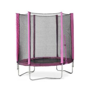 Plum Junior Trampoline and Enclosure 6ft - Pink