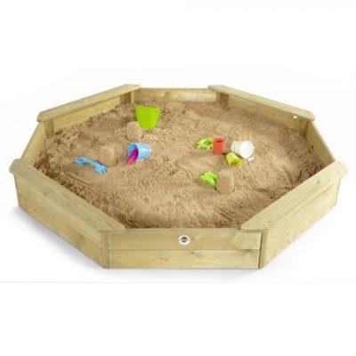Plum Large Octagonal Sandpit