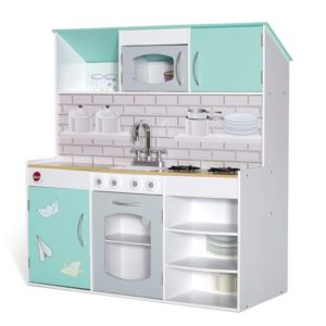 Plum Peppermint Townhouse 2-in-1 Kitchen and Playhouse