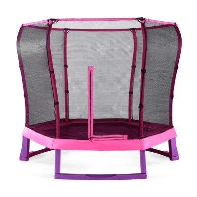 Plum Junior Jumper Trampoline and Enclosure 7ft - Pink/Purple