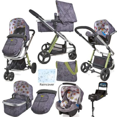 Cosatto Giggle 2 Whole 9 Yards Port Isofix Bundle - Dawn Chorus