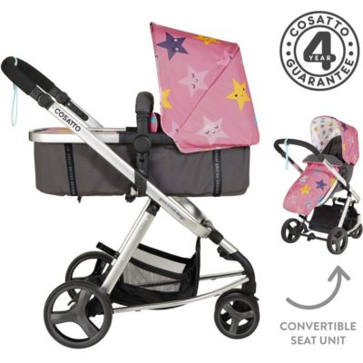 Cosatto Giggle Mix Whole 9 Yards Hold Isofix Bundle - Happy Stars