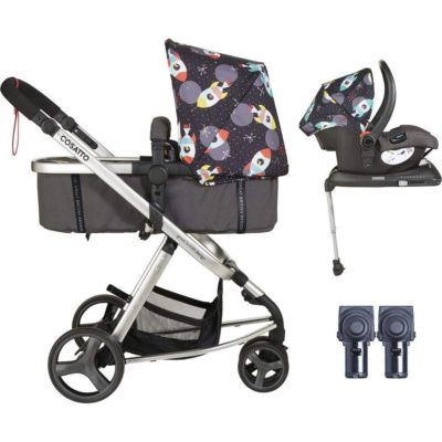 Cosatto Giggle Mix Whole 9 Yards Hold Isofix Bundle - Space Racer